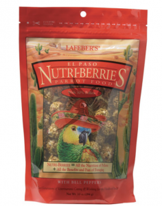 Lafeber NutriBerries El Paso Complete Parrot Food - 284g