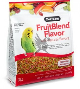 ZuPreem FruitBlend Small - Complete Food for Cockatiels - Całoroczny granulat dla małych papug- 4,54kg OUTLET