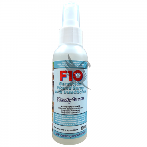 F10 Germicidal Wound Spray with Insecticide- Bakteryjny spray do ran z insektycydem 100ml
