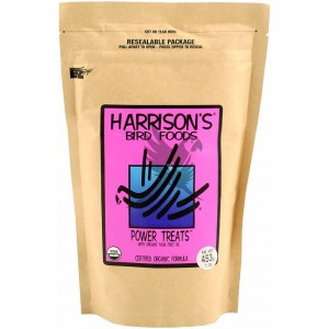 Harrison`s Power Treats - Organic Treats for Parrots - Transition pellets, or a healthy reward 450g