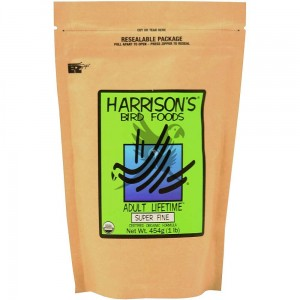 Harrison`s Adult Lifetime Super Fine Organic Bird Food - Granulat całoroczny drobnoziarnisty - 450g