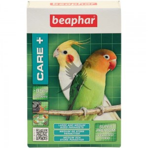 Beaphar Care Plus Super Premium Food - Medium/Large Parakeet 500g