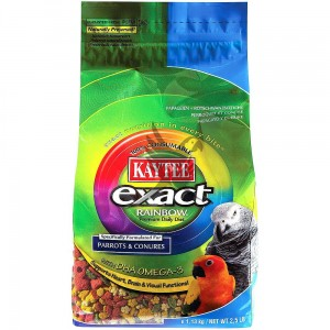 Kaytee Exact Rainbow Complete Food for Parrots & Conures - Granulat całoroczny dla średnich papug 1,13 kg