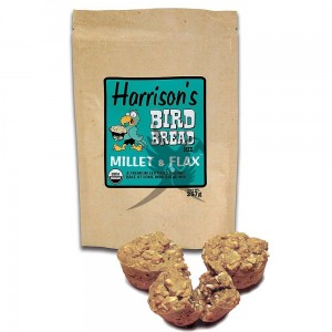 Harrison`s Bird Bread Mix Millet & Flax Organic Parrot Treat - 257g